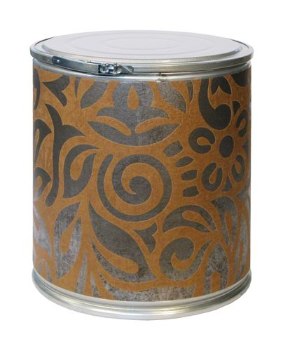 cardboard design stool TT MÉTAL BRUT BAROQUE Pacific Art Design