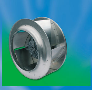 centrifugal extractor fan for rectangular duct systems IMPELLER Fischbach Luft- u. Ventilatorentechnik GmbH