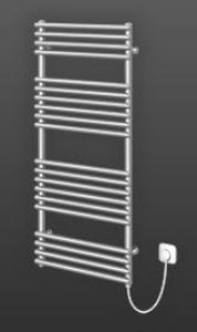 chrome electric towel radiator DELLA-E RETTIG AUSTRIA GMBH