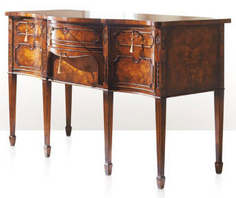 classic style wooden sideboard The Dinner Bell has Rung ALTHORP