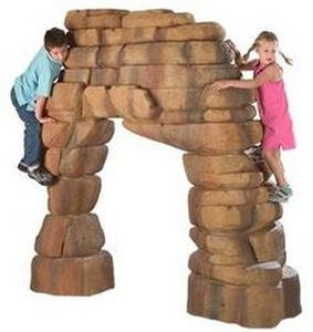 climbing boulder for playground UP-DA01 DELICATE ARCH BigToys