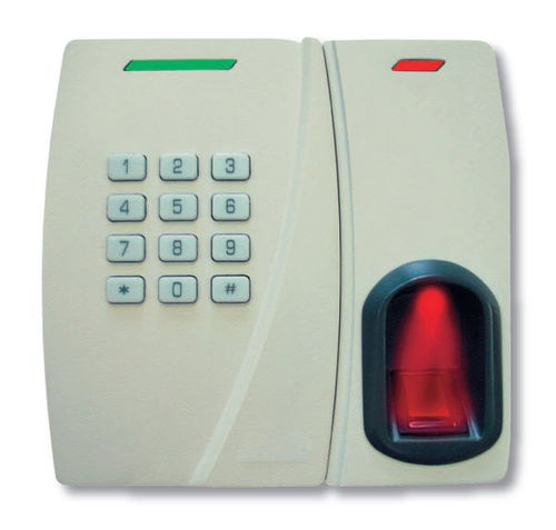 code keypad with biometric reader for access control AYC-W6500 Eff Eff France
