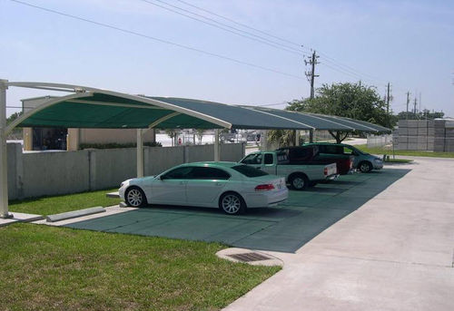 commercial carport (canvas cover) CONTRACTING Apollo Sunguard