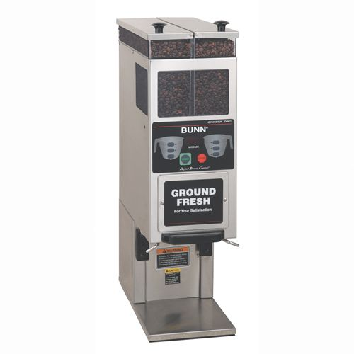 commercial coffee grinder-doser G92T DBC Bunn-O-Matic Corporation