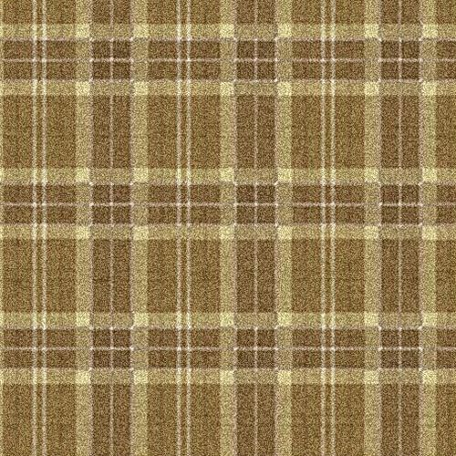commercial cut pile tufted synthetic carpet tile (Green Label Plus-certified, low VOC emissions) PLAID Milliken Contract
