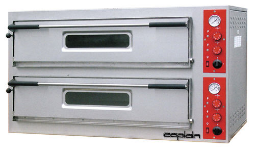 commercial electric 2 chamber pizza oven FPx02PE caplain machines