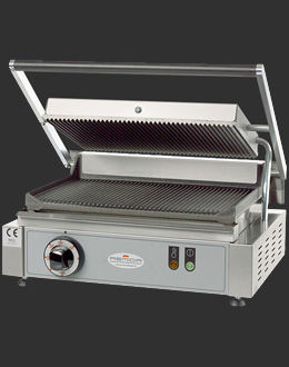 commercial electric grill SINGLE RIBBED Remida Group srl