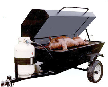 commercial food smoker E-Z WAY  Big John Grills & Rotisseries