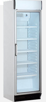 commercial glass door refrigerator KBC 375 CL KLEO-FRANCE