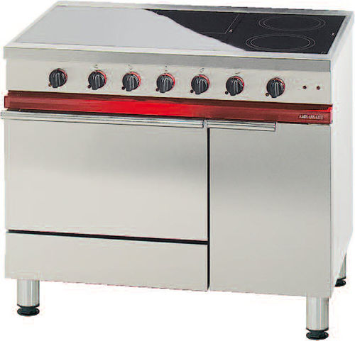commercial induction range cooker CE 1051 VTR. AMBASSADE DE BOURGOGNE