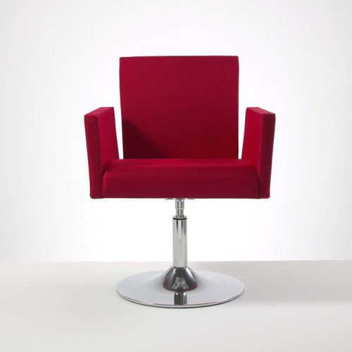 commercial swivel armchair LOUNGE by Lucci & Orlandini MASCAGNI