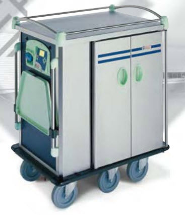 commercial utility trolley MOTORIZED  ELECTRO CALORIQUE