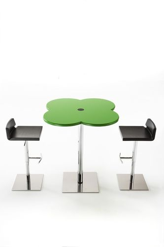 contemporary adjustable bar chair IPPO by Giorgio Manzali IBEBI DESIGN