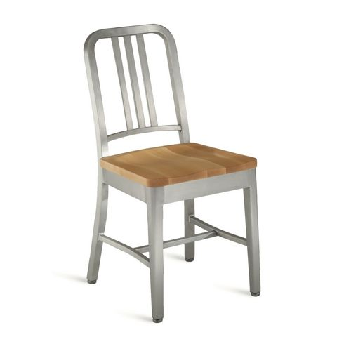 contemporary aluminium chair NAVY®:1104 emeco
