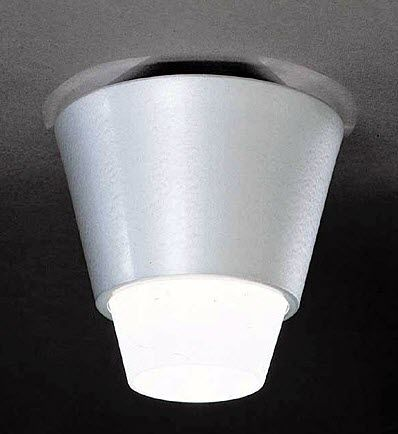 contemporary ceiling lamp (glass) KON by H&aring;kan Olsson BLOND