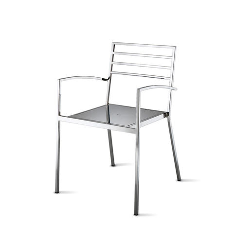 contemporary chair with armrests 4 STAR srl