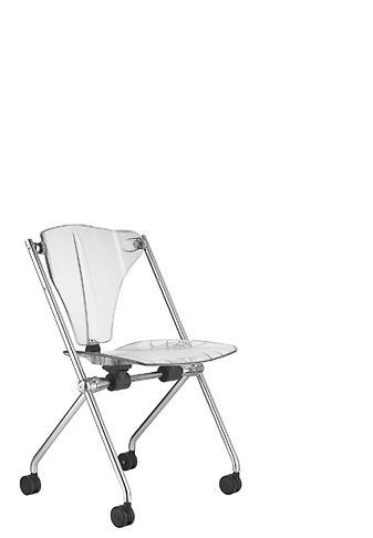 contemporary chair with casters ARTE'S: SIT&MOVE SitLand spa