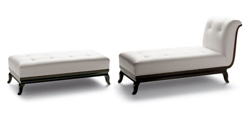 contemporary commercial upholstered bench BOTTICELLI Interna Collection