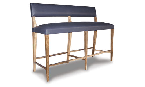 contemporary commercial upholstered bench BRUNO Costantini Design