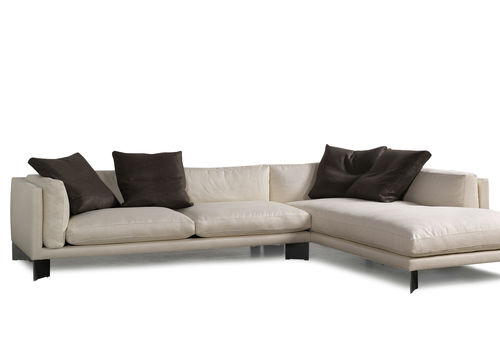 contemporary corner sofa SOFT BENCH BERTO SALOTTI