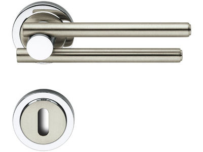 contemporary door handle IDA M4/M9 BRC DI ROSSETTI