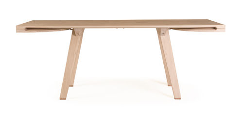 contemporary extending wood table TOGETHER by Studioilse DE LA ESPADA