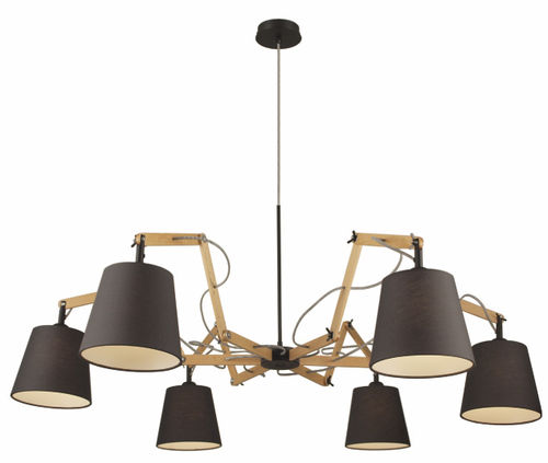 contemporary fabric chandelier NA777 Aromas del Campo