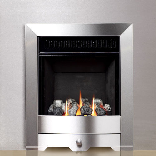 contemporary fireplace (gas open hearth, vent-free) ENVIRON 4247 Chesney