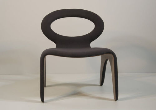 contemporary fireside chair LOUISE PSM