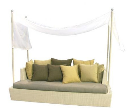 contemporary garden canopy sofa TF 0892 Nature Corners Co.,Ltd.