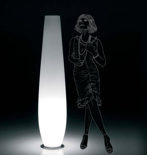contemporary garden lamp post NICOLE by Ilaria Marelli PLUSt COLLECTION by EURO 3 PLAST
