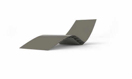 contemporary garden sun lounger BEE TurriniBY