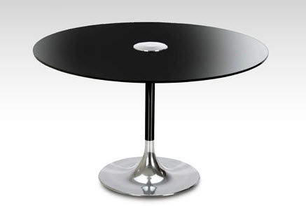 contemporary glass round table LILYPAD  DAVISON HIGHLEY