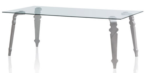contemporary glass table MIMI' PSM