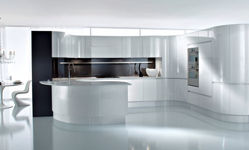 contemporary high gloss lacquered kitchen ARTIKA Pedini