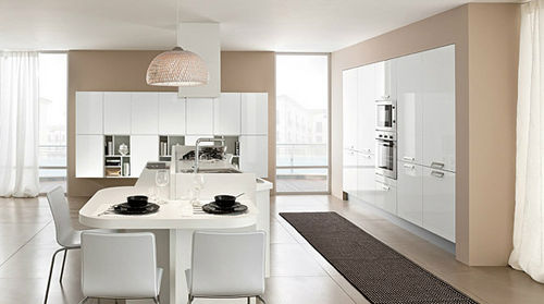 contemporary lacquer kitchen PARAGON GLAM: 02 Colombini
