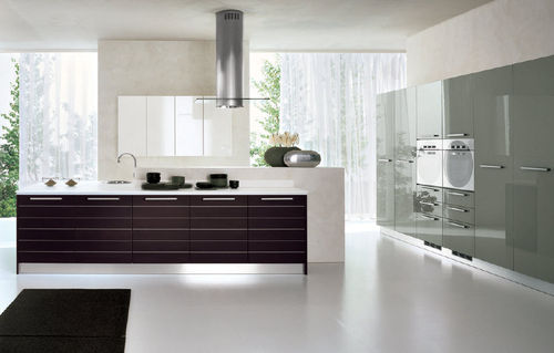 contemporary laminate kitchen (with island) MIURA Corazzin Group - Contract &amp; hotel