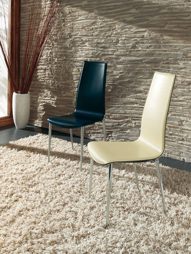 contemporary leather chair INGRID : V773 by Jan Sabro Vibiemme