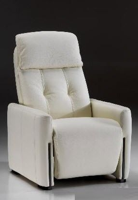 contemporary leather recliner armchair WILSON Satis