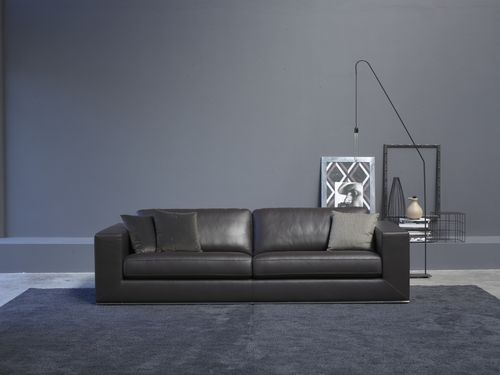 contemporary leather sofa IPANEMA Alberta