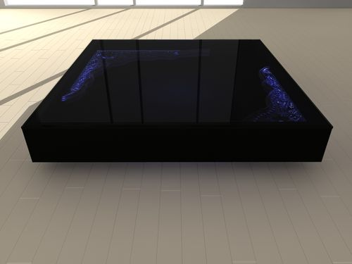 contemporary luminous coffee table ISIS Idéel