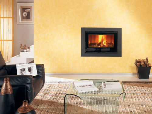 contemporary mantel for built-in fireplace (steel) STEEL Nordica