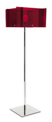 contemporary methacrylate floor lamp SAGITTA by Fabio Bortolani Calligaris Italian home design since 1923