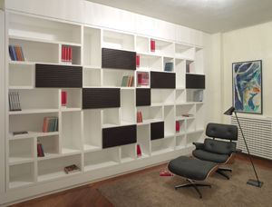 contemporary modular bookcase CASTLE SYSTEM SABINOAPRILE/Interior Design