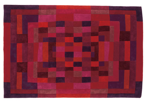 contemporary motif rug in New Zealand wool MOSAICO 2  nanimarquina