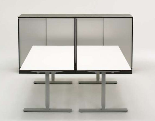 contemporary multiple workstation for open-space SNITSA INTER 02 Sa Mobler