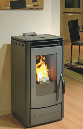 contemporary pellet wood stove 1000 EASY  THERMOROSSI