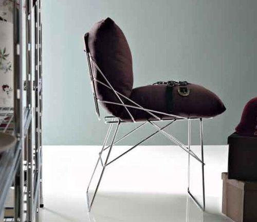 contemporary sled base chair SOF SOF by Enzo Mari Robots
