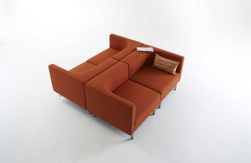 contemporary sofa SIDE BY SIDE by Dick Spierenburg & Karel Boonzaaijer Arco Contemporary Furniture