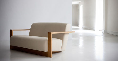 contemporary sofa in certified wood (FSC-certified) ALVIS by Terence Conran BENCHMARK